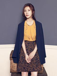 More Of Ha Ji Won For Crocodile Ladies' Fall 2015 Ad Campaign   Couch Kimchi