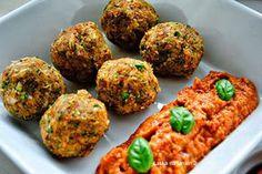 brokolicove gulky Ethnic Recipes, Food, Red Peppers, Essen, Meals, Yemek, Eten