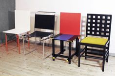 Gerrit Rietveld chairs