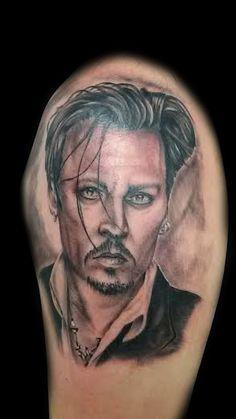www.valestattoo.com #valestattoo #tattoo #tatuaggio #johnnydepp #realistic #realistictattoo #blackandgrey #blackandgreytattoo #pantheraink #pantherablackink #pantherainktattoo #tattooart #tattooartist #tattooartistitaly #tattoomadeinitaly #photooftheday #bestoftheday #love