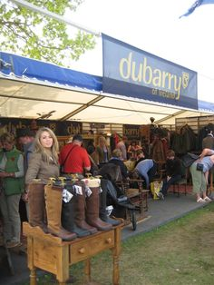 Dubarry is always a good stand to visit at horse events