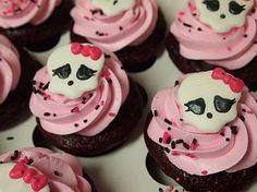 monster high cupcake ideas | ... de ideas y presentaciones de cupcakes o magdalenas de Monster High
