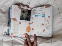 """starbugscoffee: """" my latest journal page """""""