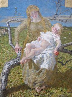 Giovanni Segantini - Frutto dell'amore (1889)