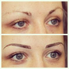Permanent Brows by Beautissima – permanent makeup eyeliner Permanent Eyelashes, Permanent Makeup Eyebrows, No Eyeliner Makeup, Eyebrow Tattoo Makeup, Eyeliner Tattoo, Makeup Gone Wrong, Eyebrow Styles, Simple Eyeliner, Cosmetic Tattoo