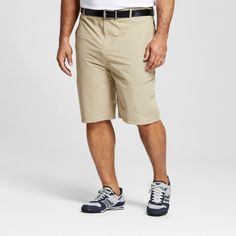 Men's Big & Tall Golf Cargo Short - C9 Champion - Khaki 58, Tree House Khaki
