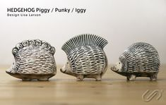 Lisa Larson Hedgehogs