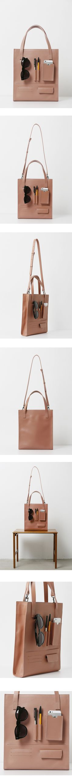 taste of LOW CLASSIC- leather utility tote