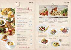 Cafe Menu, Cafe Food, Drink Menu, Food And Drink, Japanese Menu, Menu Layout, Food Menu Template, Around The World Food, Food Menu Design
