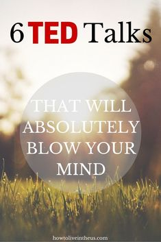TED Talk Videos are some of the greatest success, motivational and inspirational videos out there. Here are 6 TED Talk videos that will absolutely blow your mind. TED talks are great for lifestyle inspiration and personal development. Event Promotion, Ted Talks Video, Affirmations, Energie Positive, Read Later, Inspirational Videos, Me Time, Self Development, Personal Development