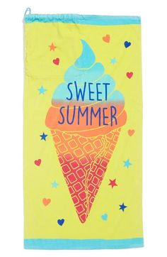 Capelli of New York 'Sweet Summer' Towel Bag available at #Nordstrom