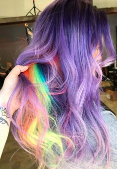 Bold and gorgeous ideas of smokey pastel and purple hair colors for women to wear in 2018. We've rounded up here some of the top trends of purple hair colors to sport with long hairs. You just have to see here and choose the most appropriate pastel purple hair highlights for you to get more obsessing and cute looks.
