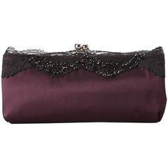 Nina Milady ($48) ❤ liked on Polyvore featuring bags, handbags, clutches, grape, evening handbags, man bag, evening clutches, hand bags and cross-body handbag