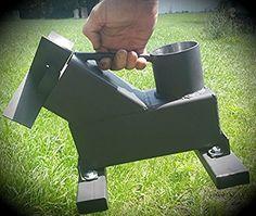 Amazon.com : Bullet Proof 308 Rocket Stove Gravity Feed SHTFandGO : Sports & Outdoors
