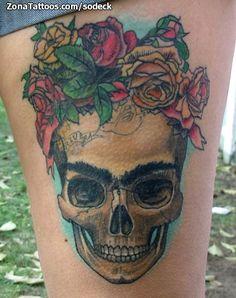 Tatuaje hecho por Javier Casanueva, de Santiago de Chile. Si quieres ponerte en contacto con él para un tatuaje o ver más trabajos suyos visita su perfil: http://www.zonatattoos.com/sodeck  Si quieres ver más tatuajes sobre la artista Frida Khalo visita este otro enlace: http://www.zonatattoos.com/tag/1609/tatuajes-de-frida-kahlo  #Tatuajes #Tattoos #Ink #Frida_Kahlo