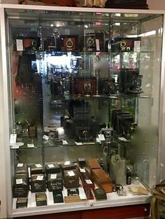 """Camera Collection From Dallas First Camera Shop All On Sale   Dallas First Camera Shop """"Marlow's On Main""""   Camera's Were $165 and up   Now All 50% OFF   Sale Price $83 and up  Dealer #021"""