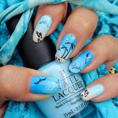 "framboise nail art stamping: Stamping ""plage"""