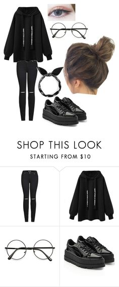 """""""Untitled #136"""" by whatthepineapple on Polyvore featuring 2LUV and Puma"""