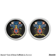 Azores* Coat of Arms Cufflinks