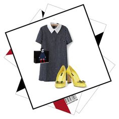 """""""Sin título #216"""" by magdalenalira on Polyvore featuring Dolce&Gabbana y Lulu Guinness"""