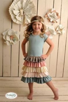 Be creative, this dress would be lovely for adults too!