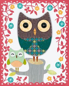 Owls, Canvas Art and Posters at Art.com