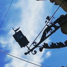 #streetlight #bluesky #provence