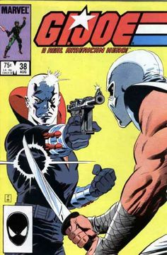 JOE G.I A REAL AMERICAN HERO #38 VF//NM 1982 MARVEL COMICS 1st PRINT