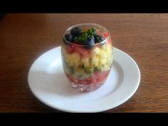 Kleiner Avocado-Schicht-Salat - YouTube