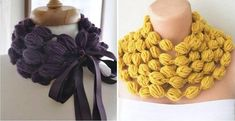 I love this gorgeous Broomstick Lace Scarf can be worn as a collar. It's an easy crochet pattern that's worked in rows. Crochet For Kids, Diy Crochet, Crochet Tunic, Crochet Dresses, Crochet Tops, Easy Crochet Patterns, Crochet Stitches, Crochet Edgings, Freeform Crochet