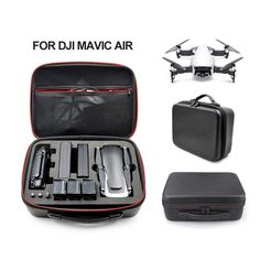 Cheap handbag handbags, Buy Quality handbags waterproof directly from China handbag case Suppliers: Waterproof Hardshell Handbag Carry Case for DJI MAVIC AIR Quadcopter Drone Body Remote Control and 3 Batteries Drones, Drone Quadcopter, Foldable Drone, Cheap Handbags, Mavic, Drone Photography, Consumer Electronics, Carry On, Drone Remote