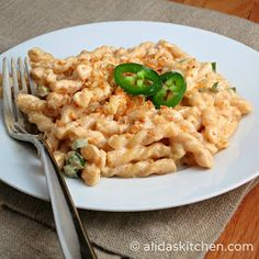 Alida's Kitchen: Jalapeno Popper Pasta