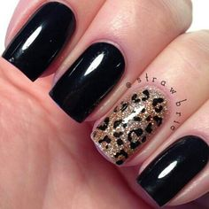 I want to try this one day. New Years maybe??   See more nail designs at http://www.nailsss.com/...