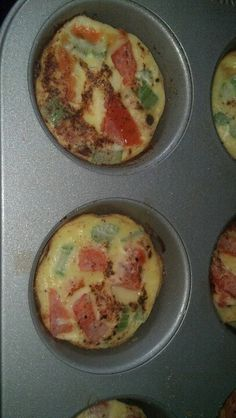 Just made this and it's awesome!  Egg muffins! Egg whites, celery,  spinach,  and tomato. Mix & bake @ 375 for 15-20 mins top with hot sauce....yummy advocare 24 day challenge breakfast.  Make a whole pan and refrigerate for later.