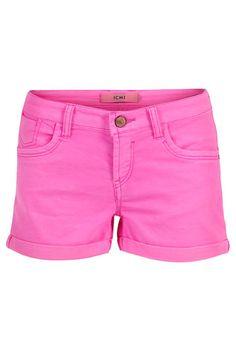 ICHI Shorts Hysa Neon Pink