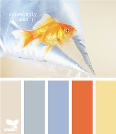 Swimmingly Hued by Design Seeds Scheme Color, Colour Pallette, Color Palate, Colour Schemes, Color Combos, Design Seeds, Colour Board, Color Stories, Color Swatches