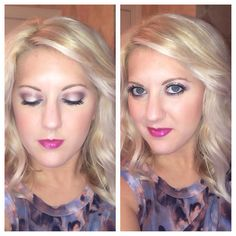 Hair and makeup by Emily