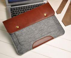 "13"" Macbook sleeve , Felt 13"" Macbook Air sleeve , 13"" macbook pro case , Laptop sleeve for 13in Macbook case (617HZ)"