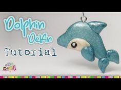 Dolphin polymer clay tutorial / Delfín de Arcilla polimérica