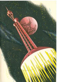 To The Other Planets, Prague 1962. Illustrated by František Škoda.