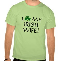 =>quality product          I love my Irish wife! Tshirts           I love my Irish wife! Tshirts lowest price for you. In addition you can compare price with another store and read helpful reviews. BuyShopping          I love my Irish wife! Tshirts please follow the link to see fully review...Cleck link More >>> http://www.zazzle.com/i_love_my_irish_wife_tshirts-235745851619940588?rf=238627982471231924&zbar=1&tc=terrest