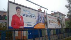 Lokalizacja plakatu też jest ważna... #Pinokio #plakatywyborcze #wybory2014 #wyborysamorzadowe2014