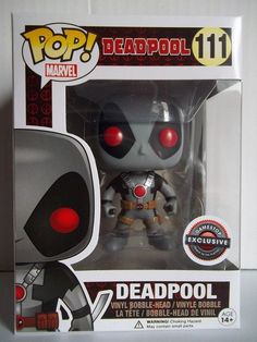 Vinyl Figure #112 MARVEL-DEADPOOL jaune Exclusive FUNKO POP
