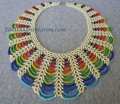 Seed bead jewelry Easy Rainbow Beaded Necklace Tutorial ~ Seed Bead Tutorials Discovred by : Linda LinebaughBest collection of free jewelry making tutorials, craft ideas, design inspirations, tips and tricks and trends Armband Tutorial, Necklace Tutorial, Necklace Ideas, Necklace Designs, Seed Bead Tutorials, Jewelry Making Tutorials, Free Beading Tutorials, Beaded Jewelry Patterns, Beading Patterns