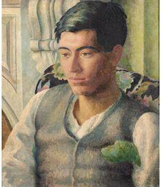 Dora Carrington portrait of Duncan Grant