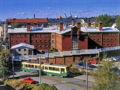 The old prison, now a hotel in Katajanokka, Helsinki