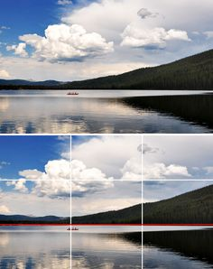 Understanding the Rule of Thirds in Photography - an easy way to improve your photos.