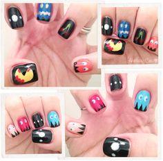 Bloody Pacman #nails #nailart