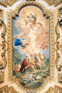 Allegoria della Divina Sapienza. Biblioteca Riccardiana. Palazzo Medici Riccardi.Firenze.Italy