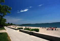 Carson Beach, South Boston. Lived in 'Southie' a short time after HS graduation in a brickstone apartment a few blocks from this beach. East 5th between K & L Streets.